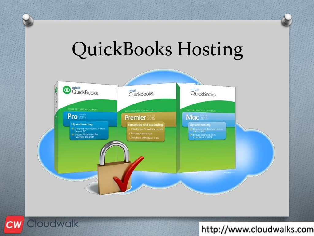 QuickBooks cloud hosting