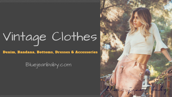 Best Vintage Clothes & Accessories online at Blue Jean Baby