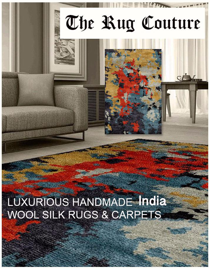 The Rug Couture - Bespoke designer rugs and carpets, Best Handmade Carpets Manufacturers, Best in Class Carpet Designer,  Rugs designer in Delhi NCR, Gurgaon, Noida, India.