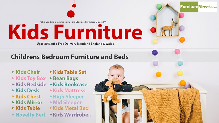 Sale!!! Get Big Discount on Kids Furniture   Beds & Mattress   Free delivery*