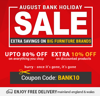 Up To 80% + Flat 10% Off August Bank Holiday Sale | On All Furniture