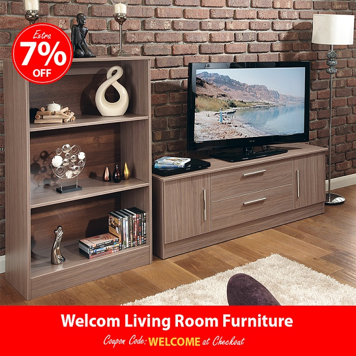 Ready Assembled Welcome Living room Furniture Stockists Sale | TV Unit