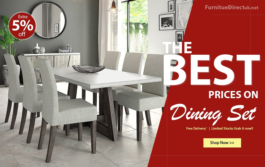 Up To 80% Off on Dining Table and Chair Set | Dining Room Furniture