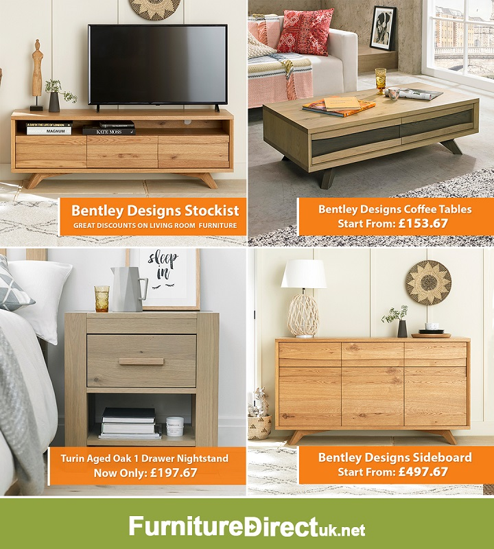 Up to 75% Off on Bentley Designs Living & Bedroom Furniture Sale | Endless selection