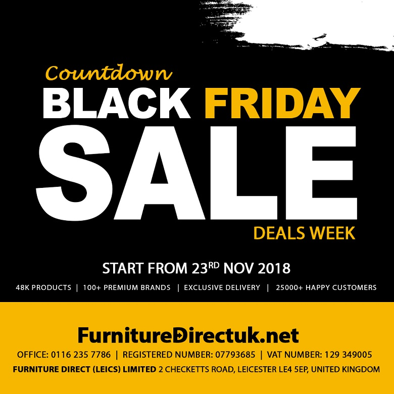 Best Ideas for Replace Your Old Furniture on Black Friday Sales