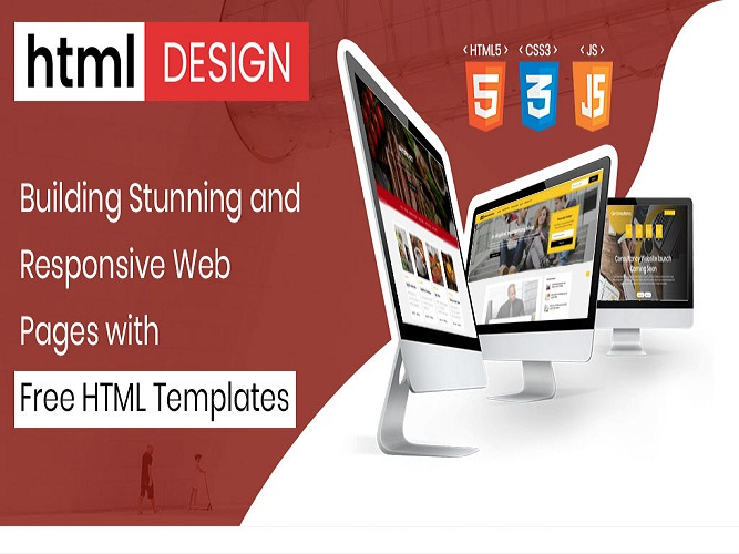 Responsive Web Pages with Free HTML Templates