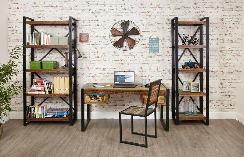 Baumhaus Urban Chic Large Open Bookcase | Boxing Day Deals 2018