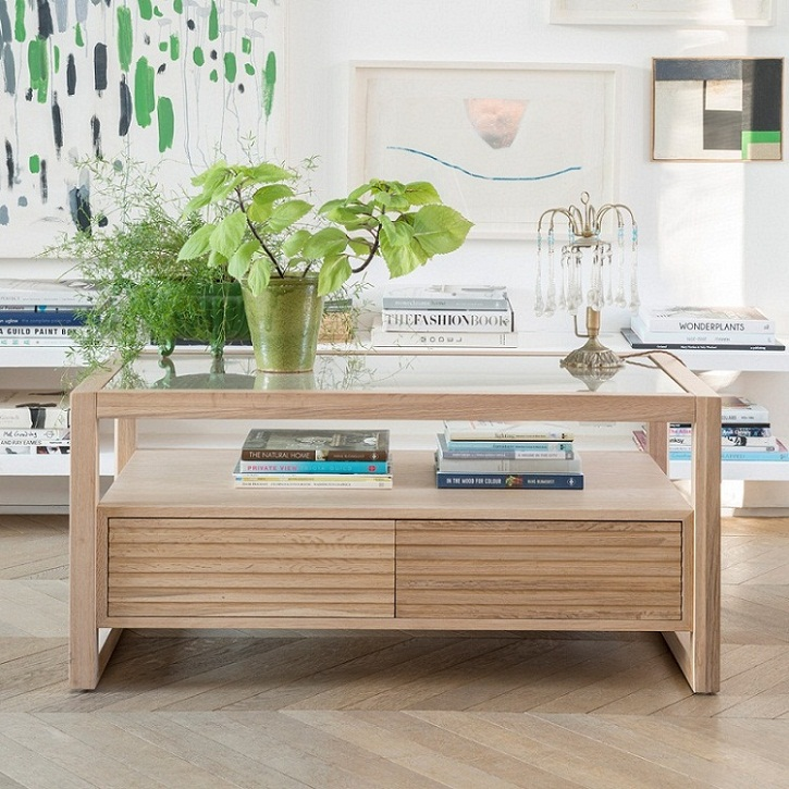 Willis & Gambier Hadleigh Coffee Table with Drawers