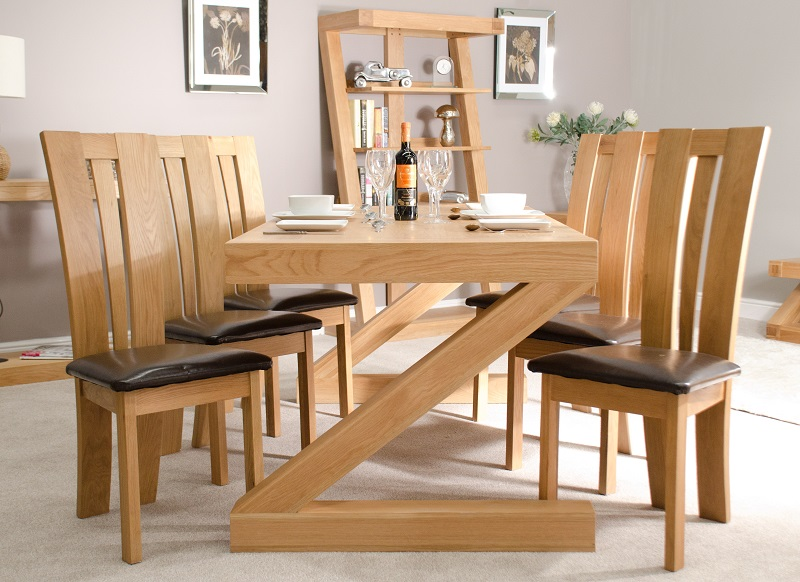 Z Shaped Large Dining Table 180cm - Homestyle GB