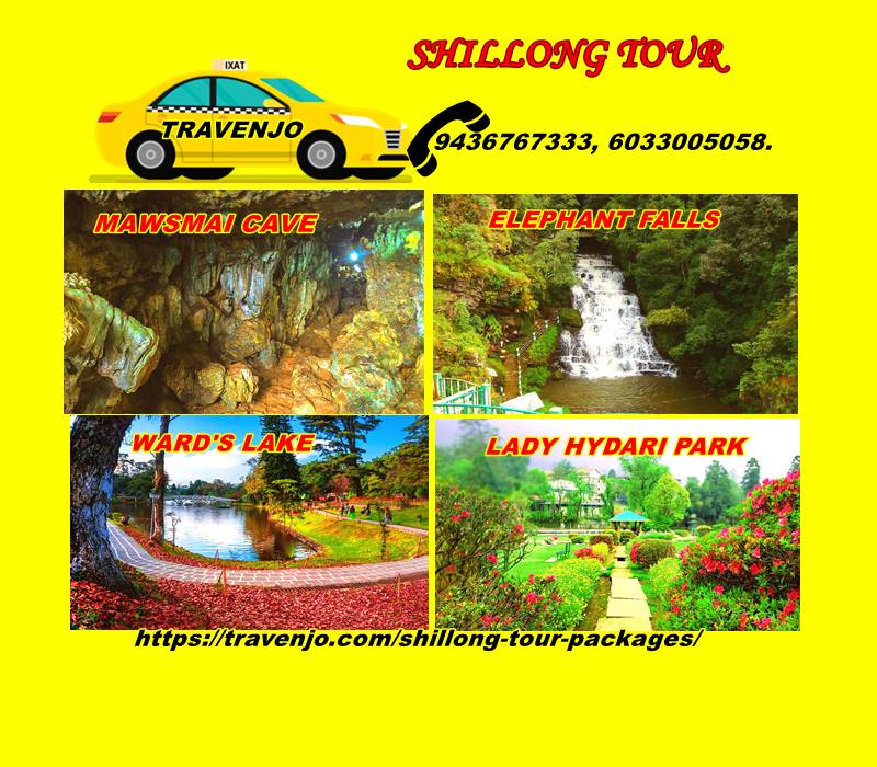 Shillong Tour Packages.