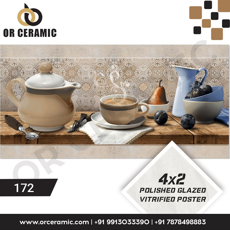 Wholesaler of Wall Poster Picture Tiles & Vitrified Kitchen Tiles
