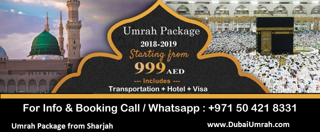 Umrah Packages from Sharjah