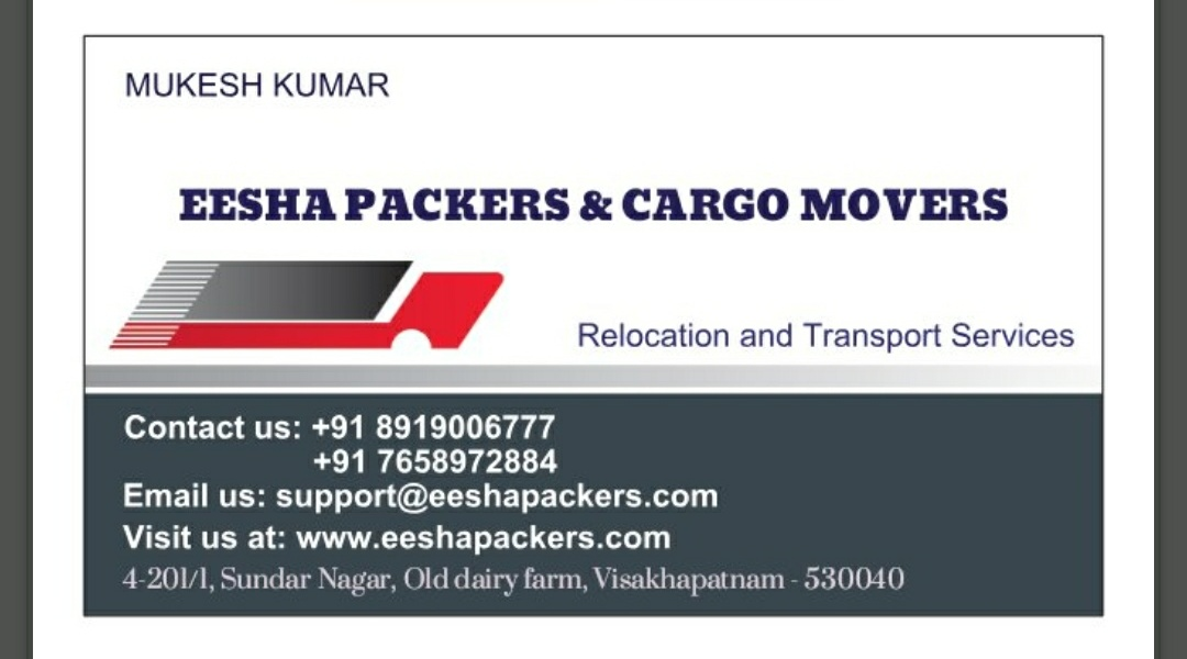 EESHA packers & cargo movers LLP