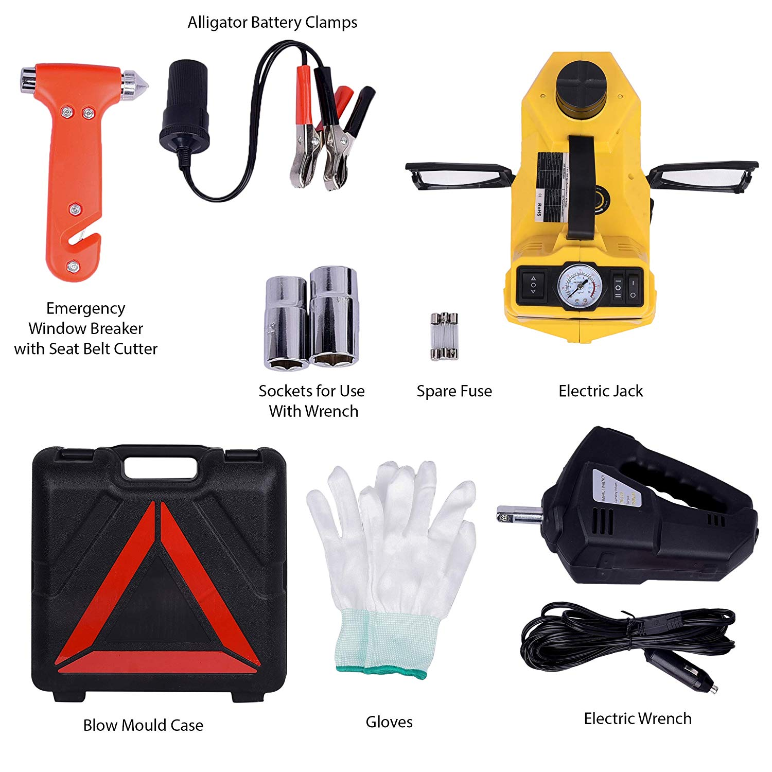 Electric Jack Repair Tool Kit Available for all cars