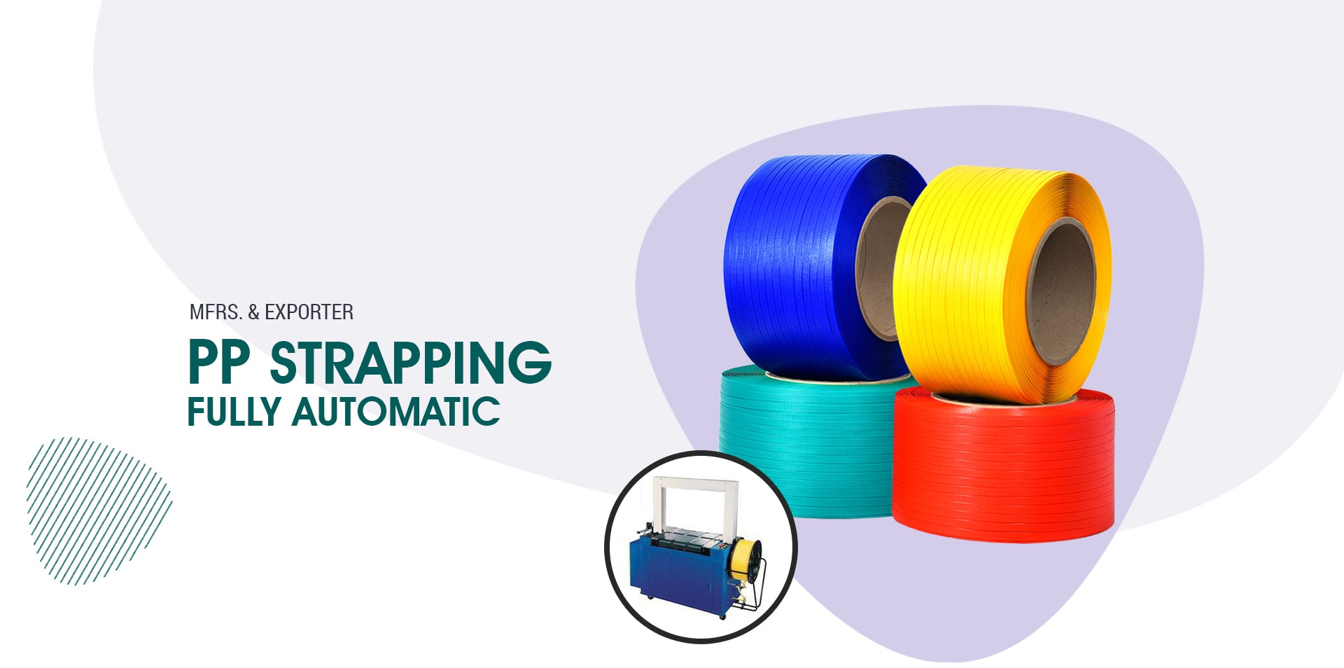 Manufacturer and Supplier of PP Strapping Roll