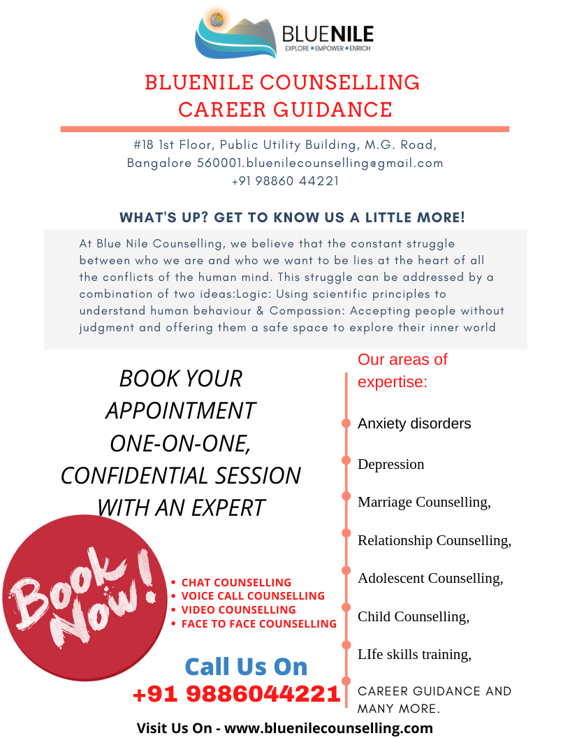Bluenile Counselling | Career Guidance