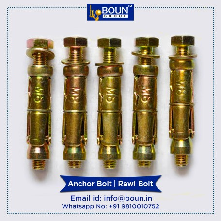 Wedge anchors manufacturers, stone cladding clamp manufacturers, India