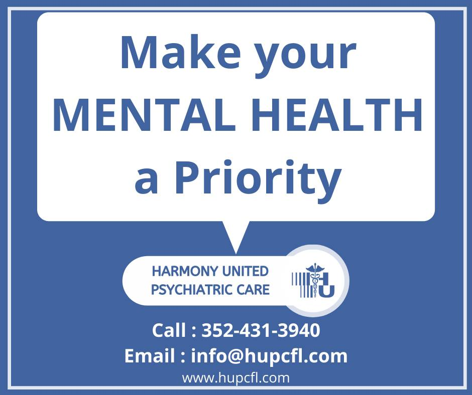 Home - Harmony United Psychiatric Care Florida's Most Reliable & Compassionate Mental Health Clinic
