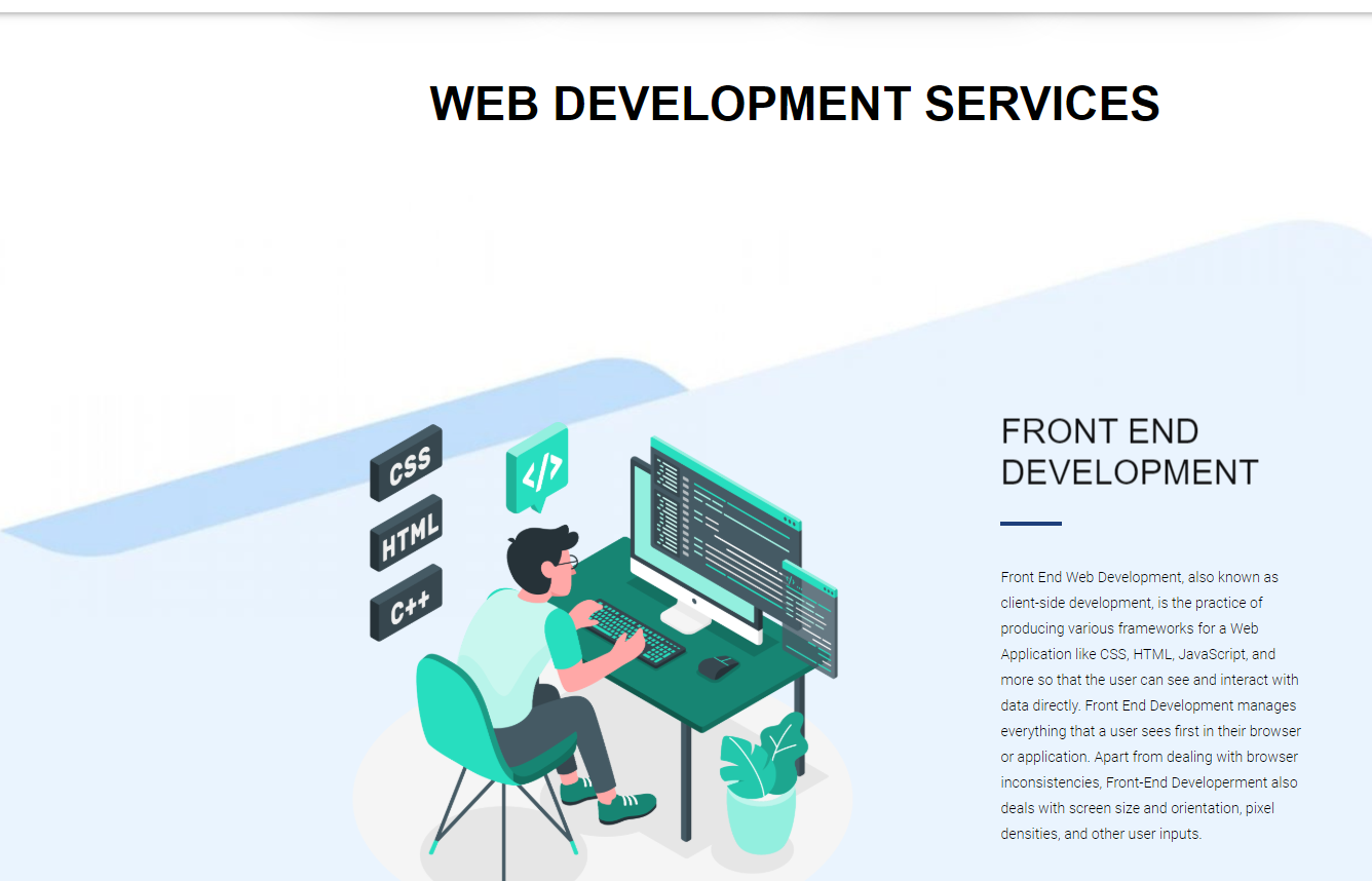 IT Service Provider- Digital Marketing, Web & App Development agency