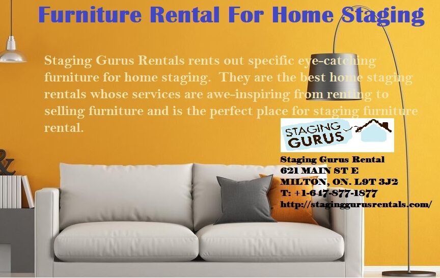 Staging Gurus Rental - Rental Source For Stagers