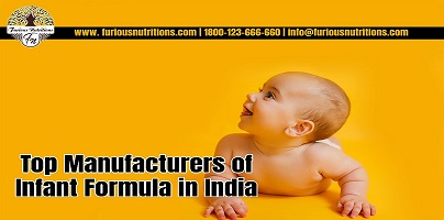 Top Manufacturers of infant formula in India
