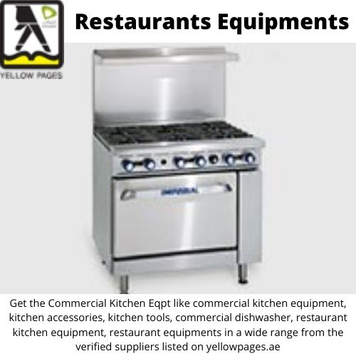 best quality search for Kitchen Equipment and other products - Commercial on Yellowpages.ae