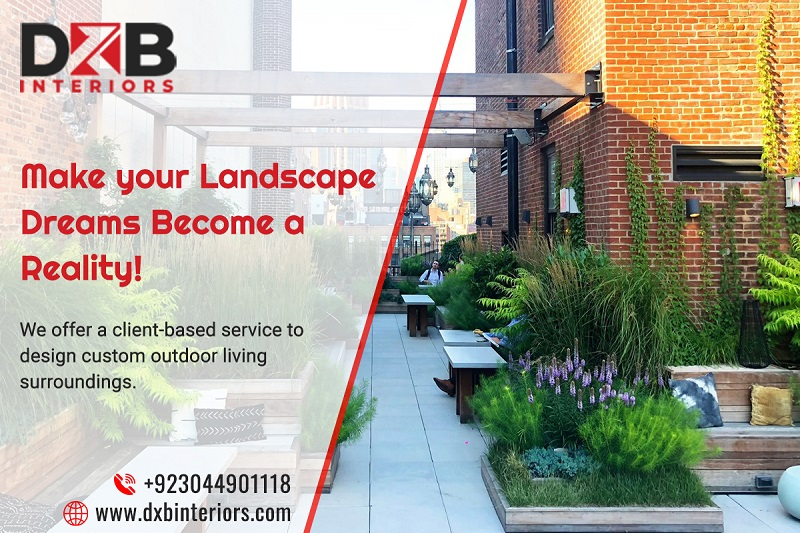 Awesome Landscape Design Services in Lahore