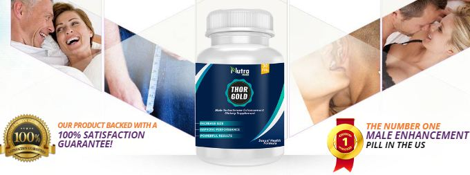 Thor Gold Sex Capsule For Man
