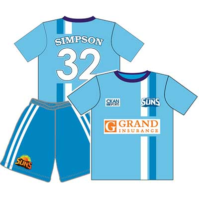 Personalised Soccer Jerseys Perth, Australia -  Mad Dog Promotions