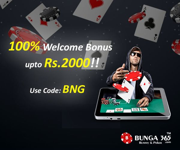 Play Poker Online Games | Win Daily ₹1,00,000 In Prizes | Bunga365