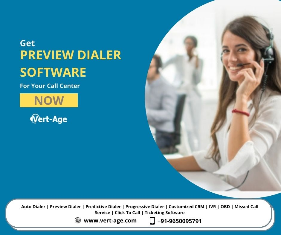 Best Preview Dialer software for call center in 2020 | +91-9650095791
