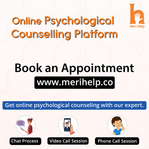 Get effective and affordable counselling from online counsellor in India at Meri Help.