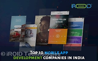 Mobile app development company in India | Iroid Technologies