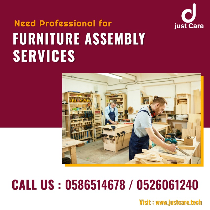 Furniture Assembly Services 24X7 in Dubai | Just Care