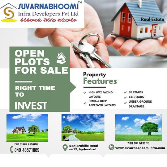 Suvarnabhoomi Infra Developers - Plots for sale in Kothur | Hyderabad