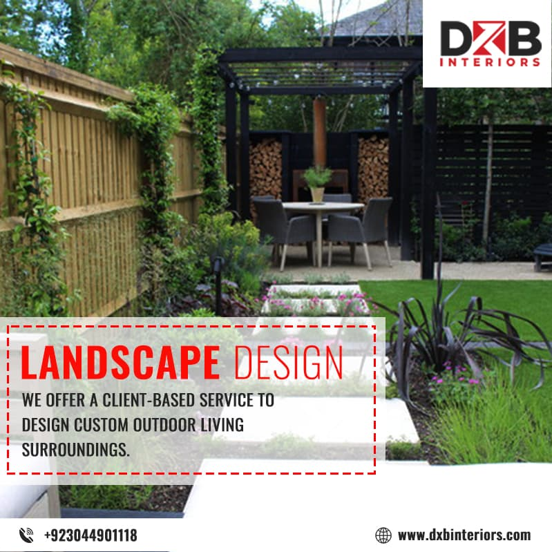 Landscape design services in Lahore | DXB Interiors