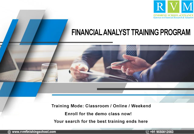 RVM offers certification & training programs in Financial Analyst