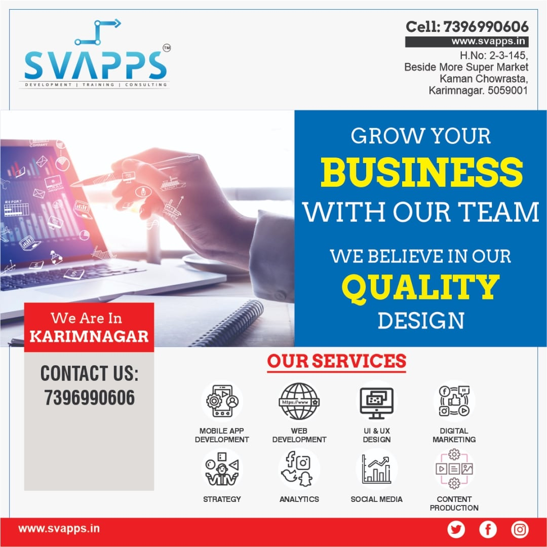 web design training in karimnagar