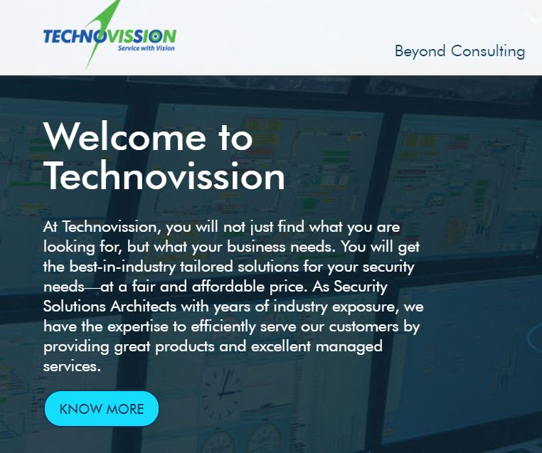 Video surveillance and network security services in Bangalore offered at Technovission
