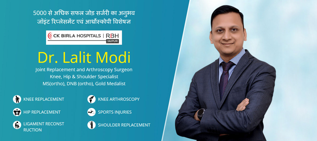 Are you searching best surgeon for knee replacement surgery in Jaipur?