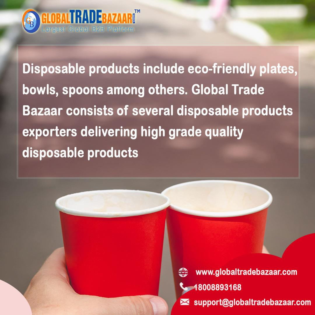 How B2B Platforms can aid Disposable Products Exporters