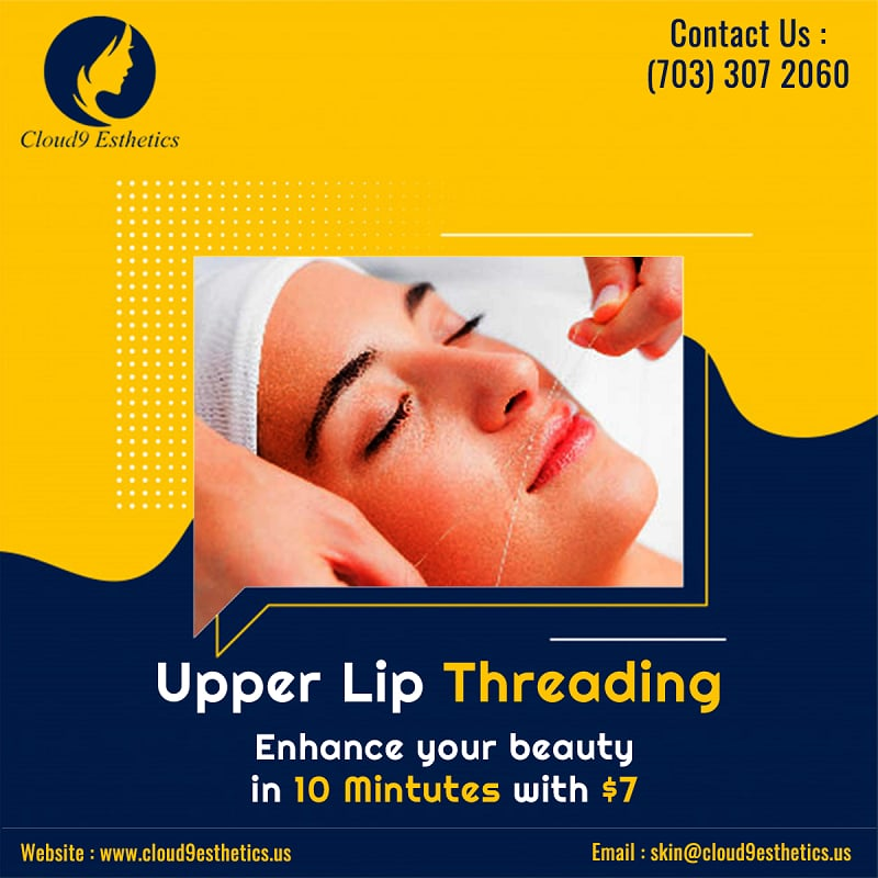 Threading Services in Reston, Manassas | Skin Care Treatment