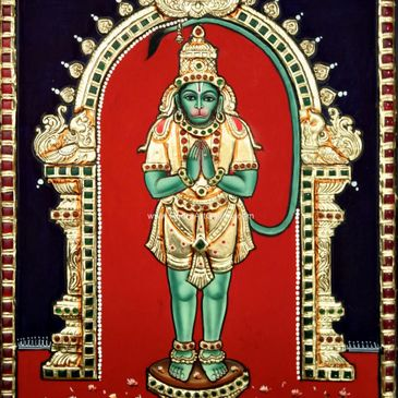Tanjore Painting | Art Gallery- Rudra Art Gallery