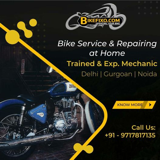 Bike Fixo offers Bike Service & Repair at Home in Delhi NCR