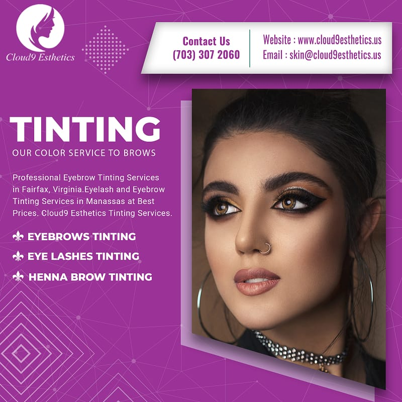 Eyebrow Tinting Services | Beauty Care Services in Fairfax