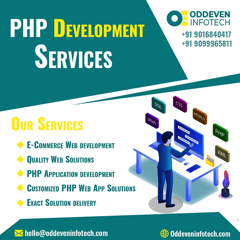 Best PHP Development Services in India | Oddeven Infotech