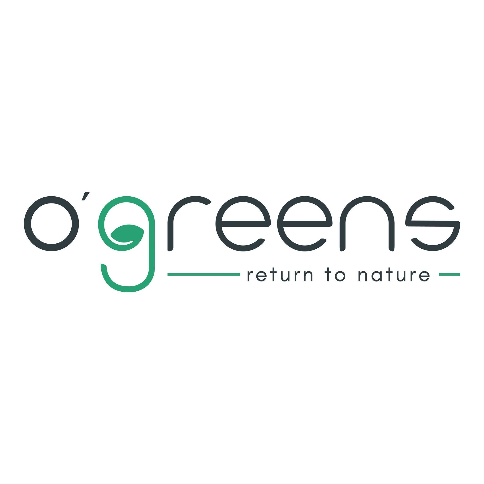 O'green offers you vegan and gluten free food