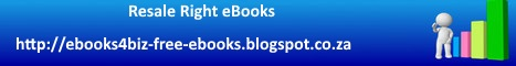 Resale Right eBooks Blogspot