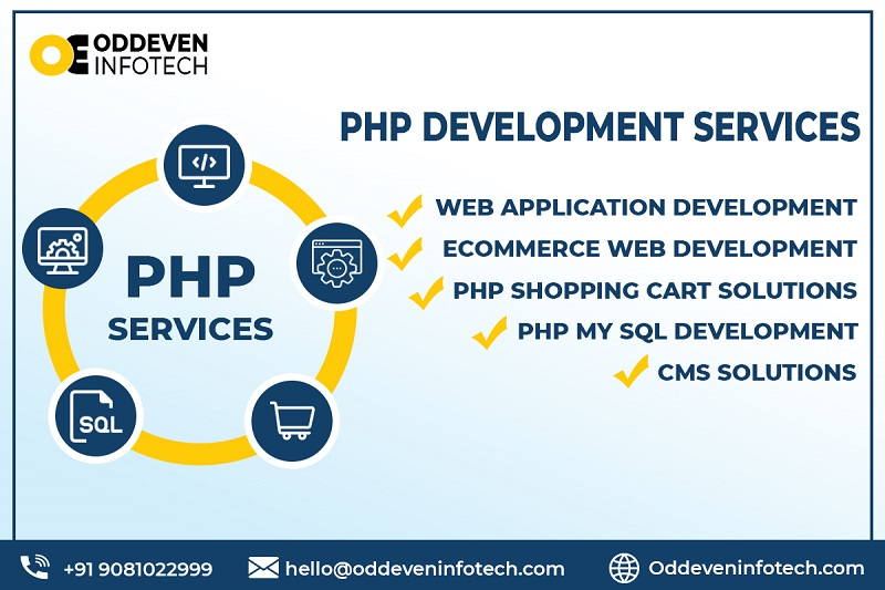 Exceptional PHP Development Company | Oddeven Infotech