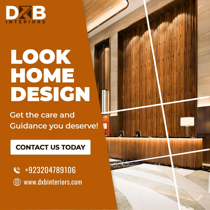Impressive Interior design services in Lahore | DXB Interiors